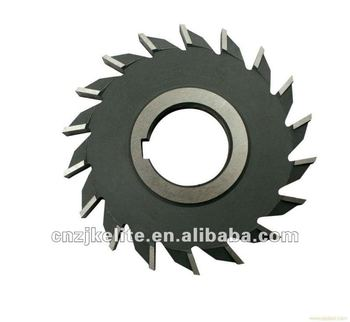 Bevel milling cutter with TIN