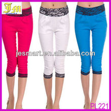 New Arrival Korean Sexy Ladies Tights Leggings Fashion Girls Black Lace Leggings Wholesale