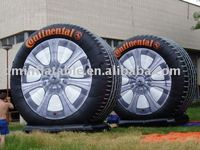 Inflatable tire Logo
