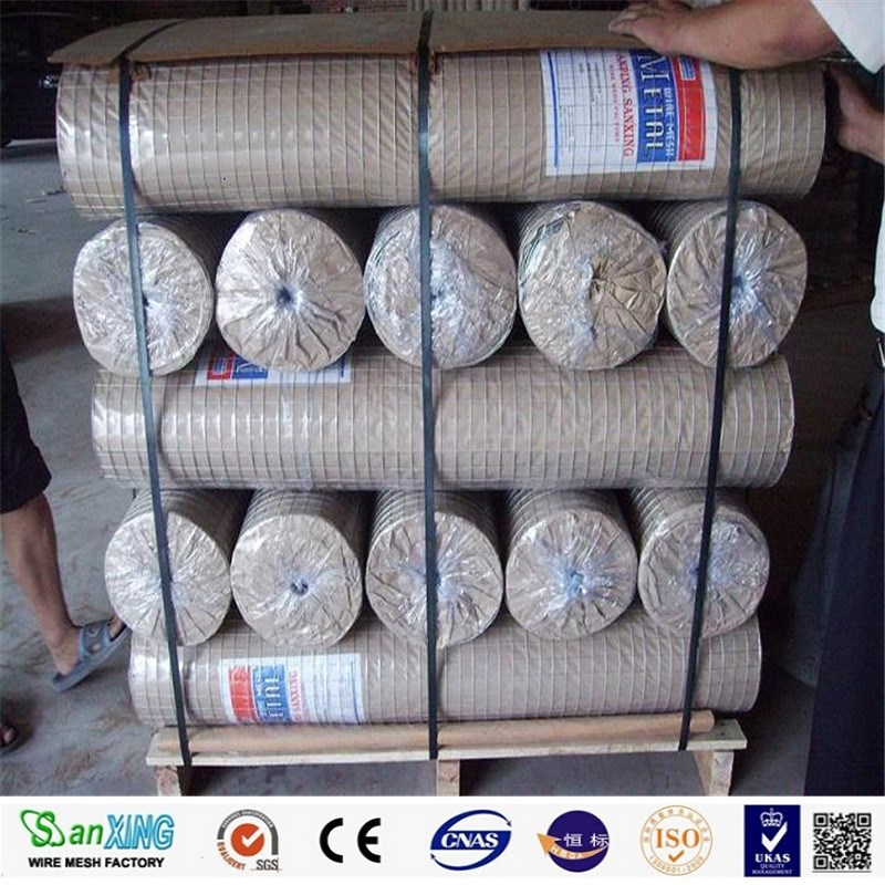 galvanized welded wire mesh factory offer welded mesh pvc coated welded wire mesh