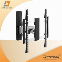 Premium Series Solid Aluminum LED,3D LED,LCD TV Wall Mount Bracket with Decorative Plastic Cover