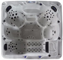 Balboa music control system outdoor hot tub spa