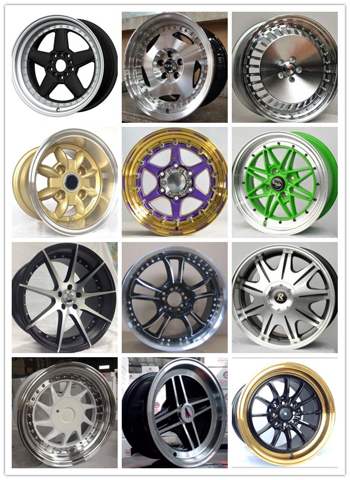 18 inch alloys wheels replica rims made in China