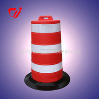 Wholesale China Factory red or yellow traffic barrel