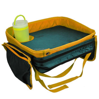 BH712 polyester High Quality Kids Travel Tray for Car backseat