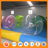Durtable funning inflatable water walking ball running ball water