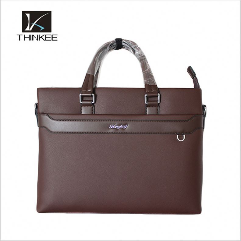 Professional design stylish Italian leather business briefcase for men