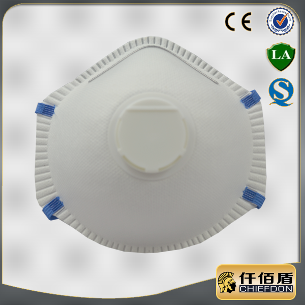 industrial anti pollution custom respirator protective nonwoven dust mask