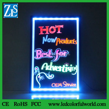 LED light box sign for advertising display New inventions in China Neon krijtbord images