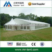 Hot sale white luxury marquee party tent with aluminum frame structure