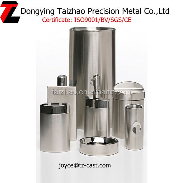 7pcs stainless steel bathroom sanitary items accessories for Bathroom sanitary accessories