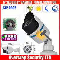 1MegaPixel 720P HD Onvif H.264 IR IP Security CCTV Camera Built in POE Module