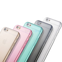 ULTRA THIN SLIM CLEAR SOFT TPU PROTECTIVE CASE FOR IPHONE 6 6s plus (5.5 INCH)