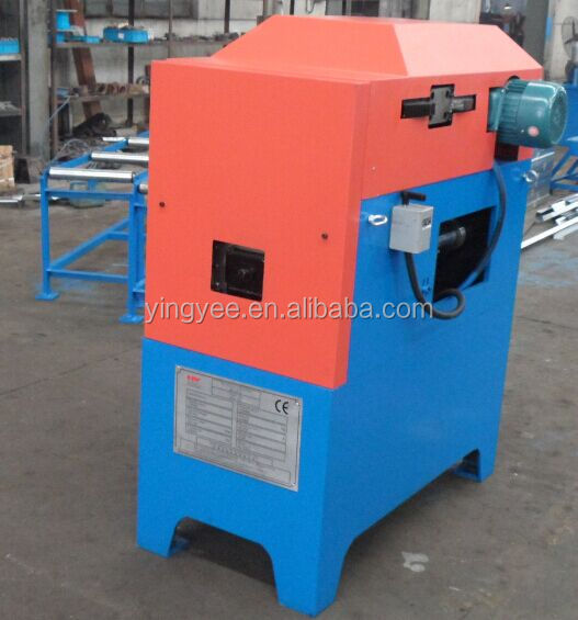 New arrival Round Mobile Metal downpipe/ rainspout roll forming machine with bender