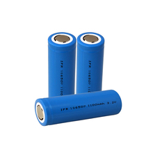 Cheap Battery Cell 18650 1100mAh 3.2V 3.52W Lithium Ion Battery Voltage
