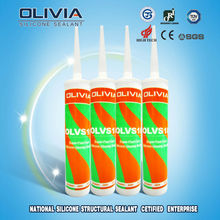 OLVS18 Acetoxy Silicone Sealant Construction Adhesive