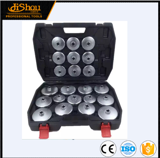 Plastic 30pcs cap type oil filter wrench set socket tools automotive removal kit made in China