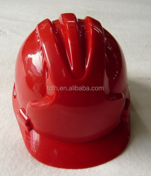 6 point suspension/buckle adjuster/customized color ABS safety helmet