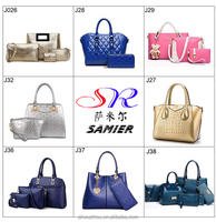 2016 fashion Hot sale fashion pu leather ladies handbag in handbags set women bag for work taobao online shopping China supplier