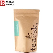 food grade stand up food plastic bag with ziplock