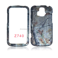 cellphone case water print 2d hard case For ZTE Radiant Z740