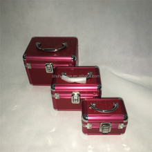 Three piece Cosmetic Case