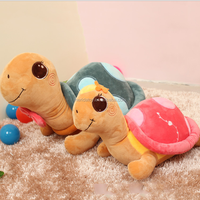 Hot selling customized big eyes plush cute turtle toys stuffed sea animal toys