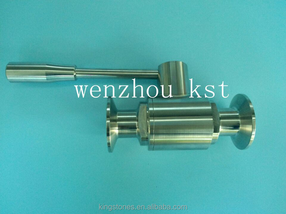 food grade ss304 sanitary ball valve