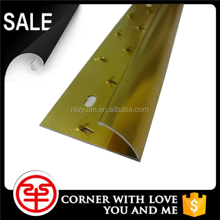 Best Quality Gripper Aluminum Commercial Carpet Transition Strips