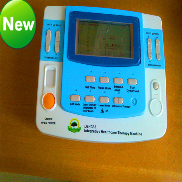 2017 top selling ultrasound device with laser tens heating cupping EA-VF29