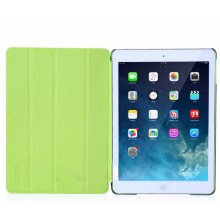2014 Newest Fresh Color Leather Case for Ipad Air with Factory Price