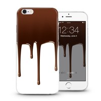 Delicious chocolate designs mobile cover case for iPhone 4 5 6 plus with high quality soft slim tpu