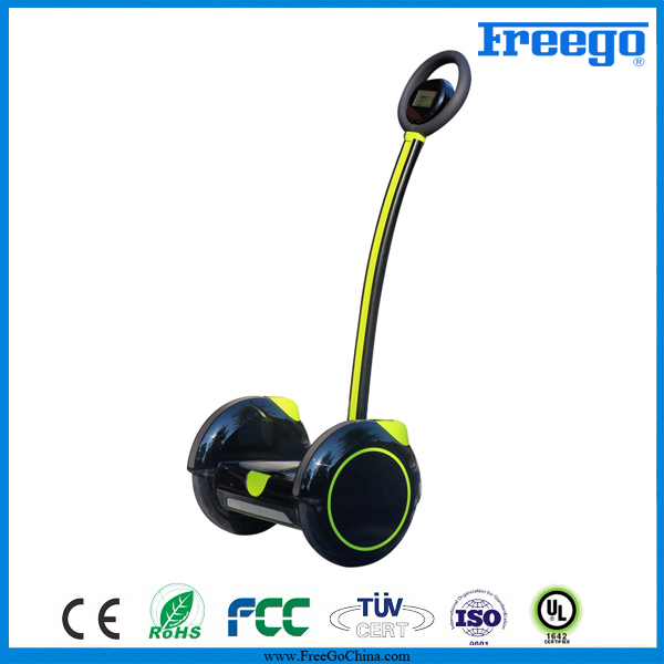 China Factory 2 Wheel Electric Self Balancing Scooter/Standing Electric Hoverboard With Handle Bar