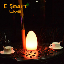 Bar table decoration lamp battery powered LED table lamp with remote control