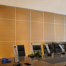 Soundproofing Aluminum Office Partition, Office Wall Partition Furniture, Folding Room Partition
