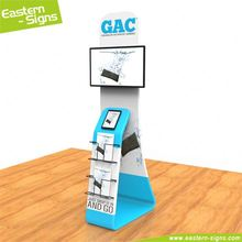 Wholesale aluminum full color advertising cost effective document display stand