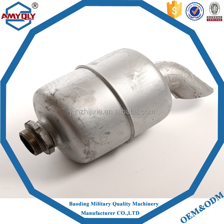 Tractor unversal muffler tip and super quiet generator muffler for sale