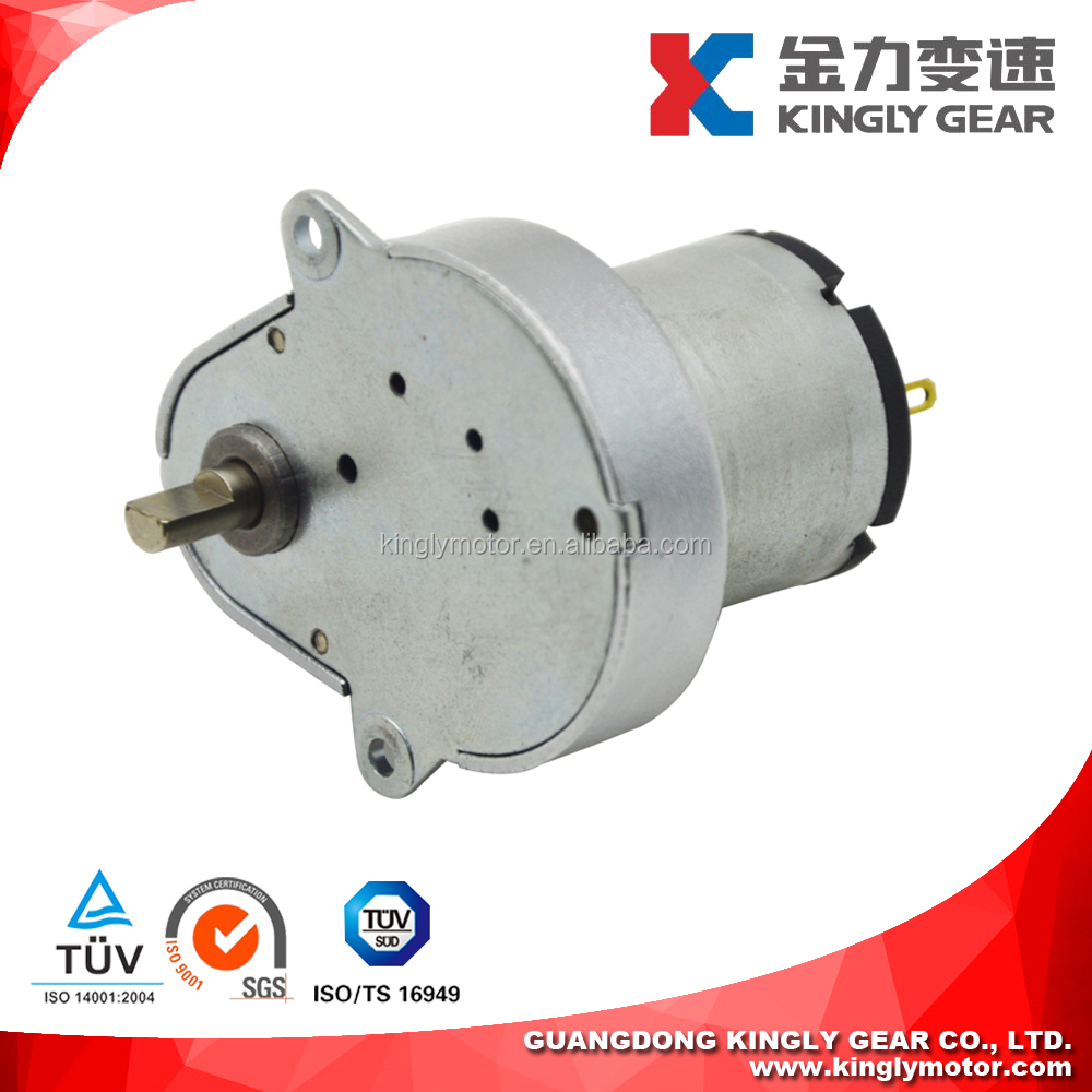 Micro PM DC Spur Gear Motor DC Motor 48volt