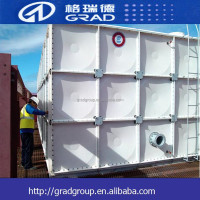 China Supplier combination pressure water tank/grp water tank /water tank container