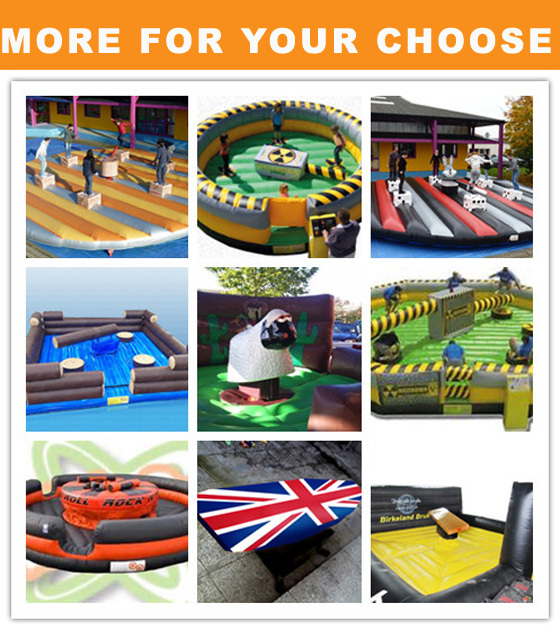 Inflatable Creative Sports MeltDown Games For Kids Like Mechanical Bull