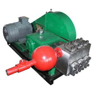 water jet Triplex plunger pump high pressure booster pumps for oildfield water injection