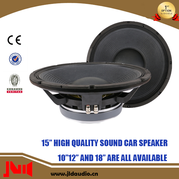 High Performed 15 inch Low Frequency Speaker With 550w rms Speaker Subwoofer
