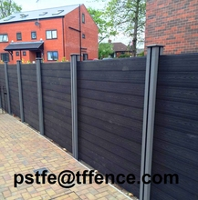 Wholesales water resistance wood plastic composite picket fencing
