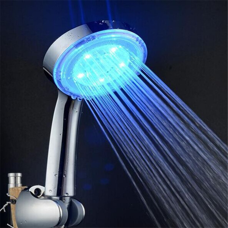 H-309LED Cixi ABS LED for three colours bathroom shower head