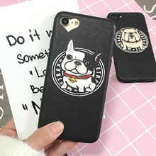 Fashional pet dog tpu mobile phone case phone bag phone housings for iphone