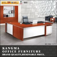 commercial business office ceo table wood furniture design for pakistan