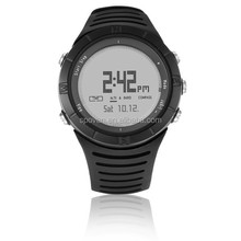 3 ATM water resist stop sport watch with Compass, altimeter, barometer function