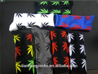 Cool Weed Leaf Ankle High Socks Plantlife High warm 100Cotton Socks 6 Colors