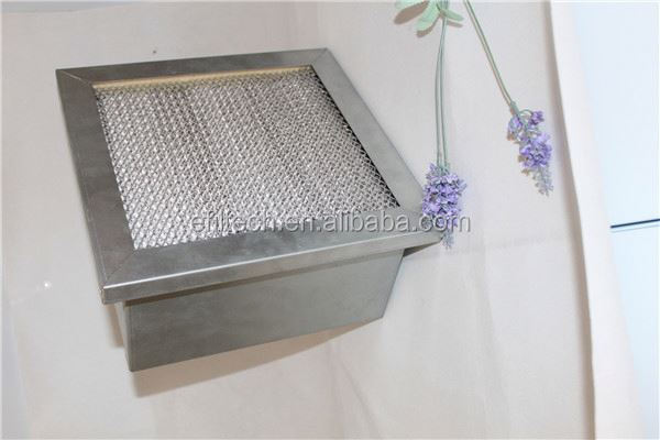 Heat Resistant Hepa Air Filter Hepa Filter Filtration Grade Air Filter clean air products
