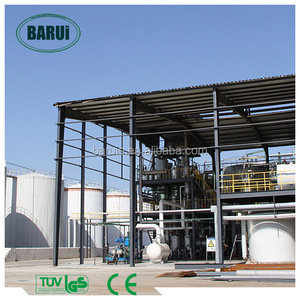 used cooking oil converting process biodiesel refinery in China